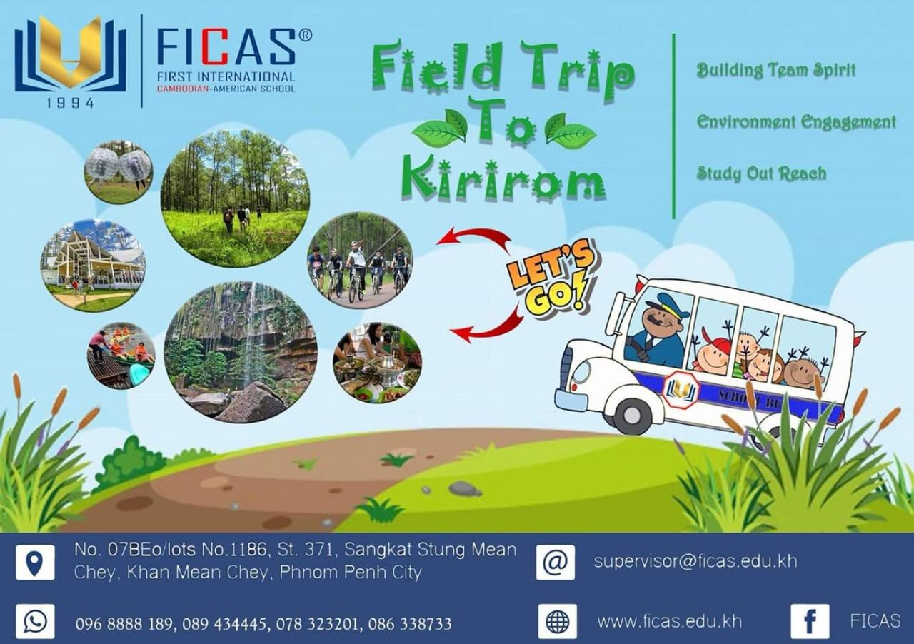 Ficas has Field Trip to Kirirom